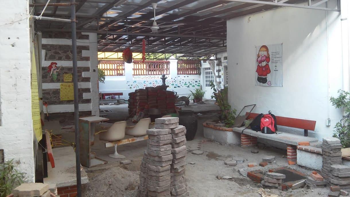 VISTA PISO LEVANTADO Fundacion Caritas Puebla Concauce