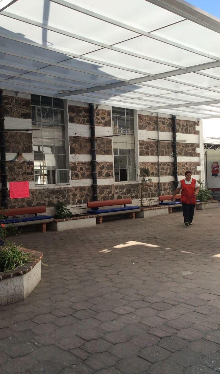 patio interior Fundacion Caritas Puebla Concauce